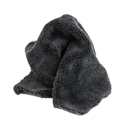 Grey microfibre towel 40x40cm
