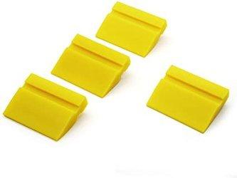 Rakla gumowa silikonowa żółta 10cm bez uchwytu