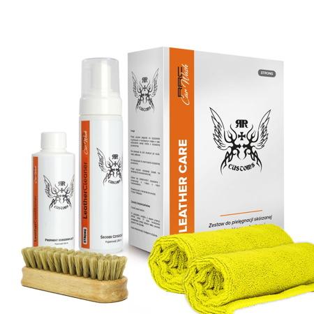 Zestaw do czyszczenia skór Leather Cleaner Strong BOX || RRCustoms